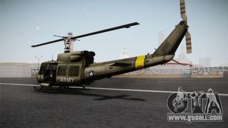 Bell UH-1N for GTA San Andreas right view
