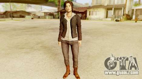 Rise of the Tomb Raider - Lara Leather Jacket for GTA San Andreas
