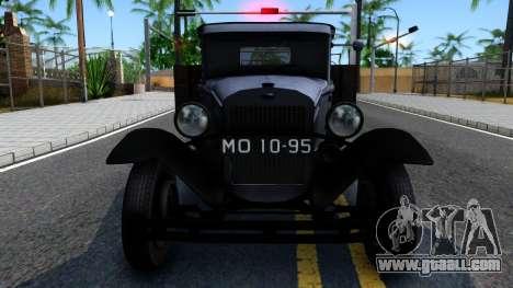 GAZ-MM 1940 for GTA San Andreas inner view