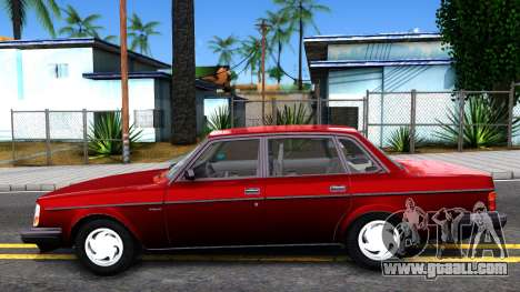 Volvo 244 Turbo for GTA San Andreas left view