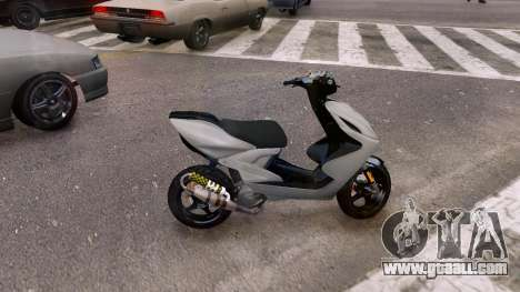 Yamaha Aerox for GTA 4