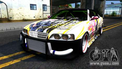 Toyota Chaser Seulbi Lee Itasha Drift for GTA San Andreas