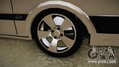 Audi 80 CD for GTA San Andreas back view