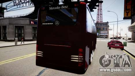 Mercedes-Benz Travego for GTA 4 back view