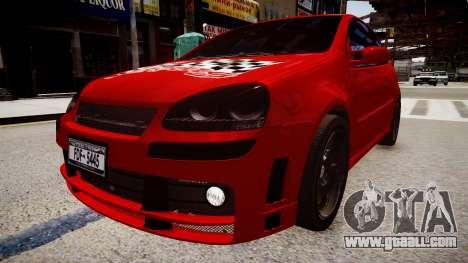 Volkswagen Golf V GTI for GTA 4