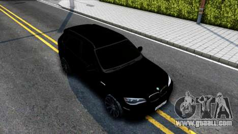 BMW X5M E70 2011 for GTA San Andreas right view