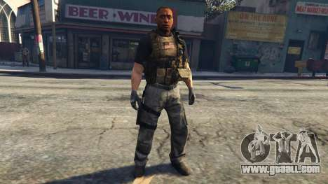 GTA 5 New Black Ops Ped 0.2