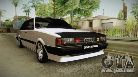 Audi 80 CD for GTA San Andreas right view