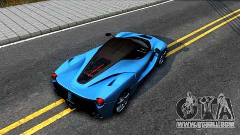 Ferrari LaFerrari for GTA San Andreas back view