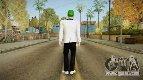 Joker White Suit for GTA San Andreas