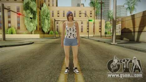 Female Skin 3 from GTA 5 Online for GTA San Andreas second screenshot