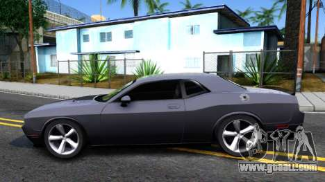 Dodge Challenger Unmarked 2010 for GTA San Andreas left view