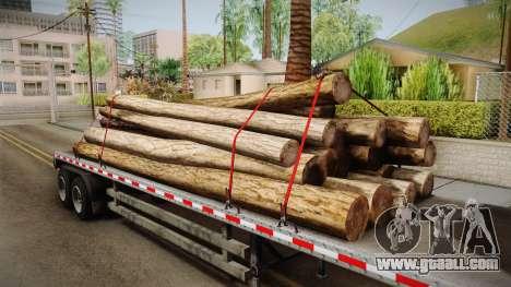 GTA 5 Log Trailer v2 IVF for GTA San Andreas