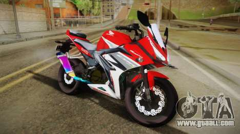 Honda CBR150R 2016 Racing Red for GTA San Andreas