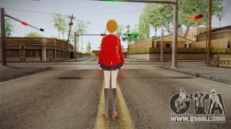 Shizuku Mizutani (Tonari no Kaibutsu-Kun) for GTA San Andreas third screenshot