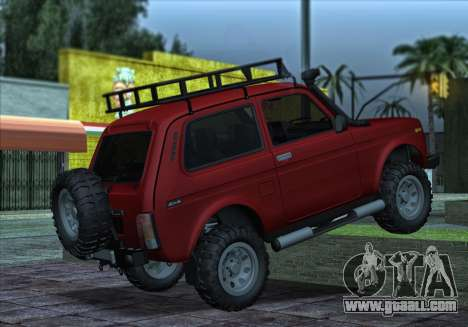 Niva 2121 4x4 Offroad for GTA San Andreas right view