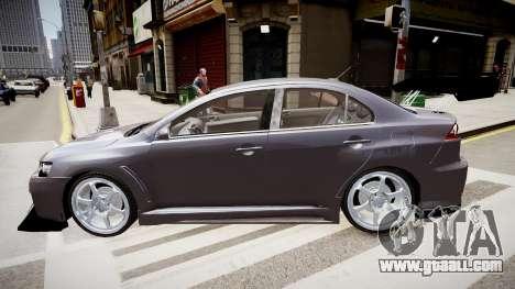 Mitsubishi Lancer Evo X for GTA 4