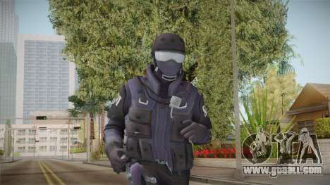 New SWAT for GTA San Andreas