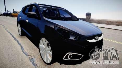 Hyundai ix35 DUB for GTA 4 right view