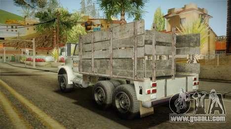 GTA 5 Vapid Scrap Truck v2 for GTA San Andreas left view