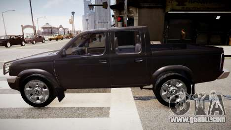 Nissan Navara Pickup Crew Cab for GTA 4