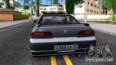 Honda Prelude for GTA San Andreas back left view
