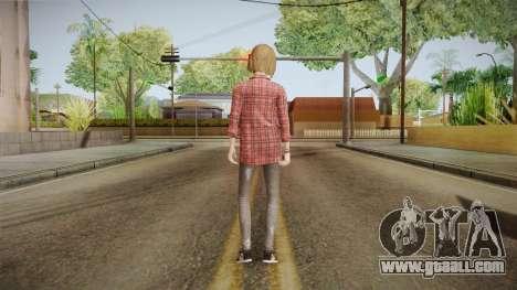 Life Is Strange - Max Caulfield Amber v2 for GTA San Andreas third screenshot
