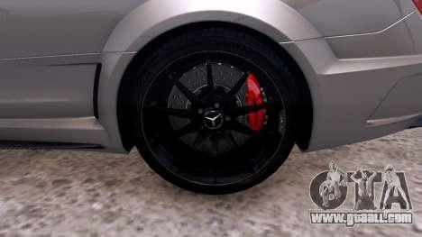 Mercedes-Benz C63 AMG 2012 v1.0 for GTA 4 back view
