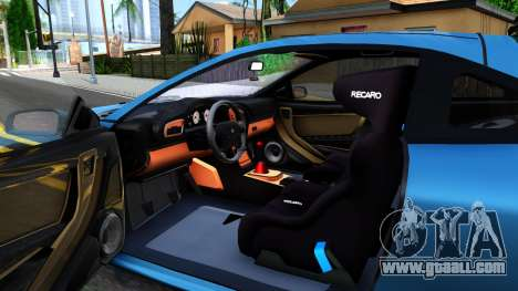 Mitsubishi Eclipse for GTA San Andreas inner view