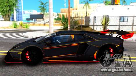 Lamborghini Aventador DMC LP988 for GTA San Andreas left view