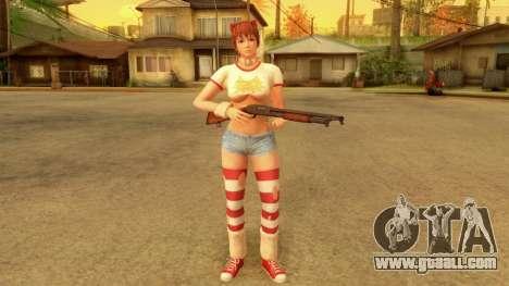 Dead Or Alive 5 LR Kasumi Halloween 2016 Edited for GTA San Andreas
