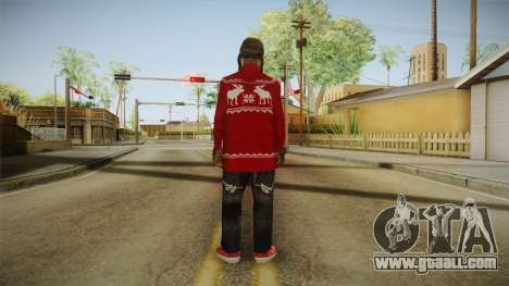 Winter Fam2 for GTA San Andreas third screenshot