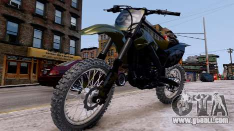 Suzuki RMZ for GTA 4