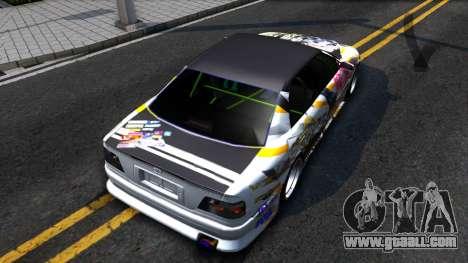 Toyota Chaser Seulbi Lee Itasha Drift for GTA San Andreas back view
