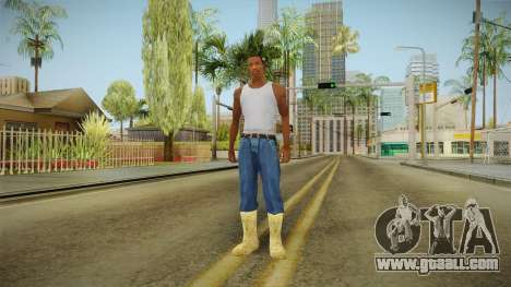 Winter boots for GTA San Andreas