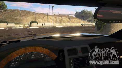 GTA 5 Cadillac XLR-V right side view