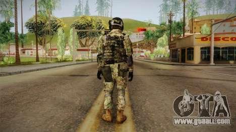 Multitarn Camo Soldier v2 for GTA San Andreas