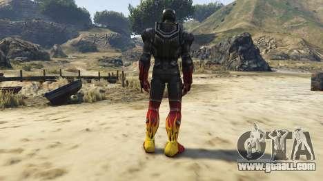 GTA 5 Iron Man Hot Rod third screenshot