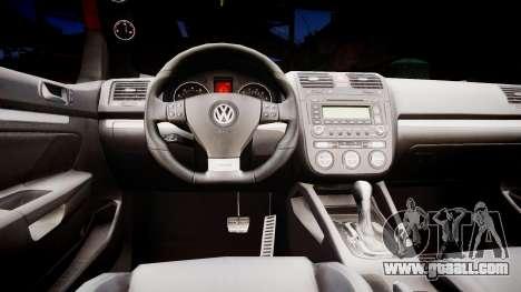 Volkswagen Golf V GTI for GTA 4 inner view