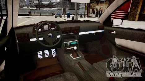 Volkwagen Golf Flash for GTA 4 inner view