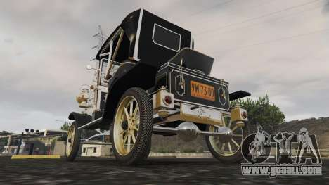 GTA 5 Ford T 12 model 2 rear left side view