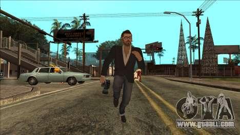 Life Is Strange - Mark Jefferson Regular for GTA San Andreas forth screenshot