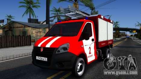Gazelle Fire for GTA San Andreas