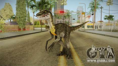 Primal Carnage Velociraptor Thunderstruck for GTA San Andreas second screenshot