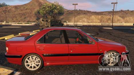 GTA 5 Peugeot Pars left side view