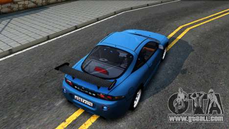 Mitsubishi Eclipse for GTA San Andreas back view
