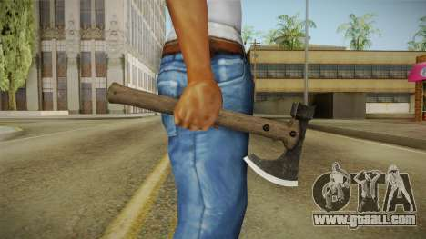 Bikers DLC Battle Axe v1 for GTA San Andreas
