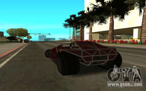 Bf Buggy Ramp for GTA San Andreas left view
