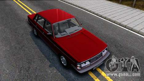 Volvo 244 Turbo for GTA San Andreas right view