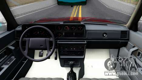 Volvo 244 Turbo for GTA San Andreas inner view